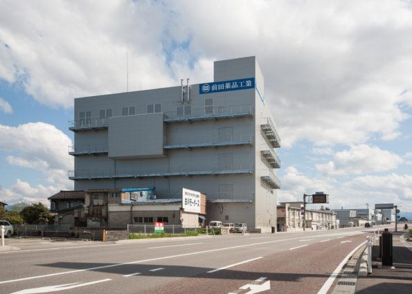 前田薬品工業株式会社新製剤棟新築工事