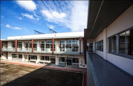 東部小学校校舎改築(その2)主体工事