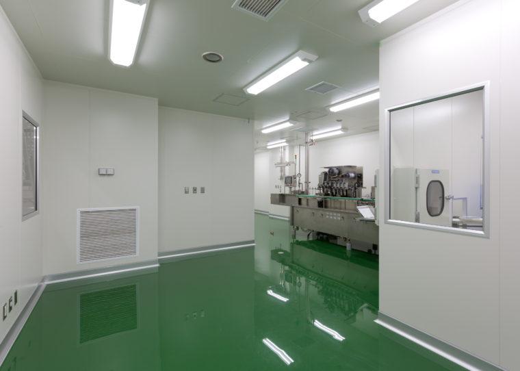 明治薬品株式会社 富山工場C棟新築工事