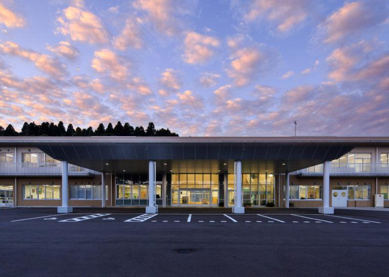 富山県立富山総合支援学校管理教室棟(2期)改築工事