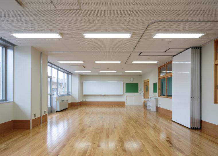 富山県立富山総合支援学校管理教室棟(1期)改築工事