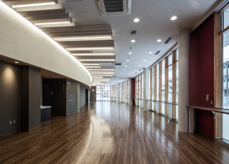 富山県立大学看護学部エントランス棟新築工事
