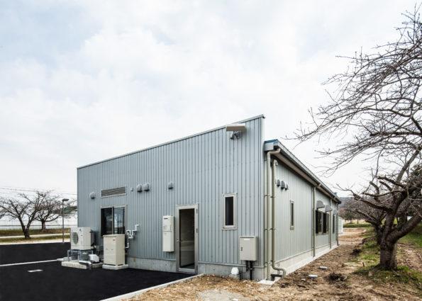 とやま農業未来カレッジICT園芸ハウス管理棟新築工事