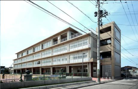 西田地方小学校校舎改築主体工事