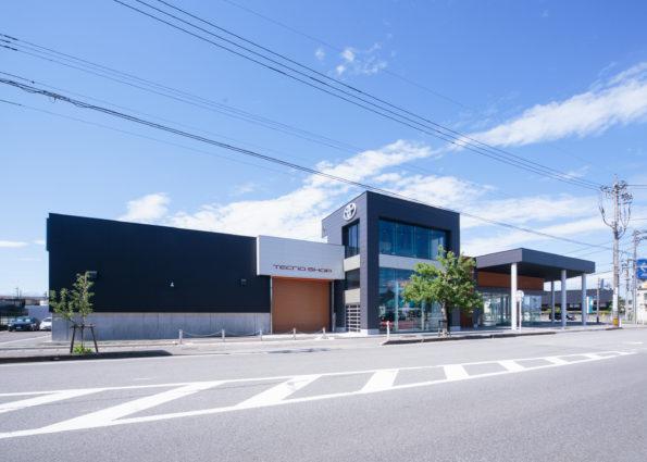 富山トヨタ自動車株式会社魚津店新築工事