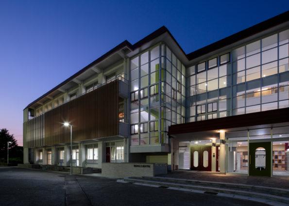 上滝小学校校舎大規模改造(その1)主体工事