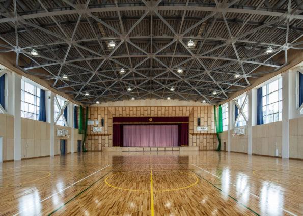 上滝小学校大規模改造(その3)主体工事