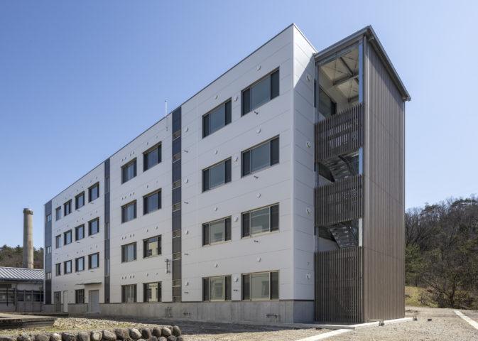 富山県立中央農業高等学校寄宿舎改築工事